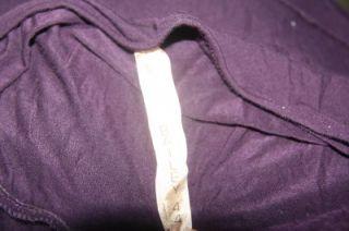 Bailey 44 Dark Purple Jersey California Dreaming Tiered Dress Sz L