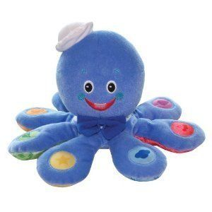 New Baby Einstein Octoplush Musical Development Toy Free Shipping