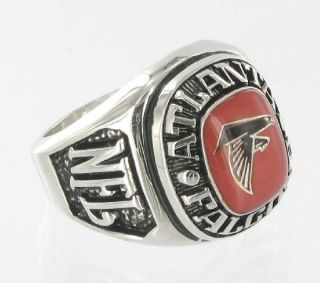 Balfour Ring National Football Atlanta Falcons Offical Nfl Sz 8