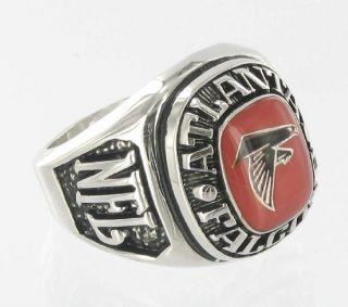 Balfour Ring National Football Atlanta Falcons Offical Nfl Sz 8