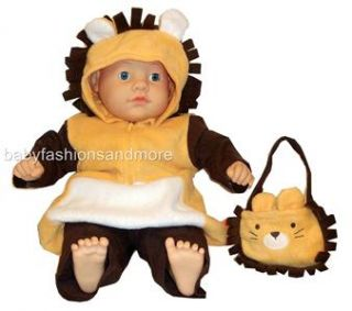 baby halloween lion costume 3 pc size 3 6 months nwt