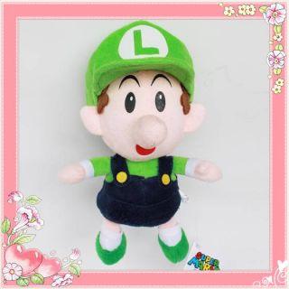 Sport Collectible 2 Baby Super Mario Plush Toy 22cm Luigi Teddy