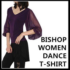 Latin Salsa Ballroom Dance T Shirt Di CS400 M L XL
