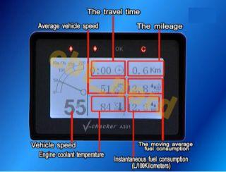 Checker A301 Car Trip Computer Diagnostic Tool OBD2 for Audi Buick
