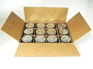 Ball Regular Mouth Jars Lids Bands 16 Ounce 12 Pack Canning Can Food