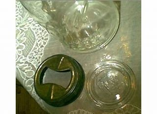 Vintage 5 Presto Ball Perfect Mason Jar Glass Lid