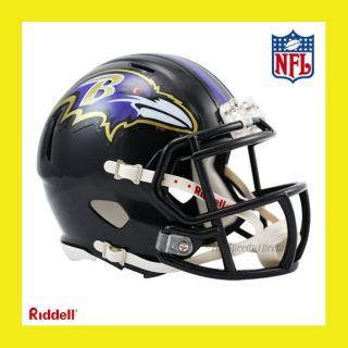 Baltimore Ravens Official NFL Mini Speed Football Helmet by Riddell