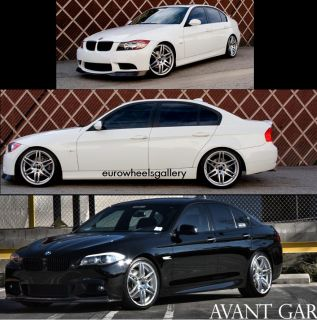 20 Avant Garde Wheels for BMW E63 E65 550 M5 545 2011 F10 New Set of