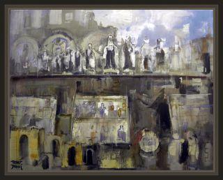 Santa Teresa Avila Mistica Escaparates Pinturas Cuadros Ernest Descals