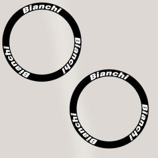 Bianchi Deep Rim Carbon Bike Wheel Decal Stickers Kit