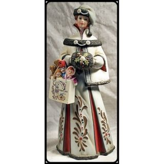 AVON PORCELAIN COLLECTIBLE MRS ALBEE FIGURINE LADY 1999 PRESIDENTS
