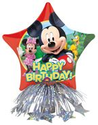 Clubhouse Birthday Party Balloon Weight Shimmer 20 Centerpiece