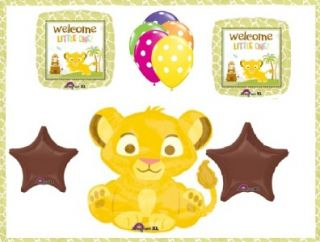 Disney Lion King Simba Balloons Baby Shower Party Decorations Jungle