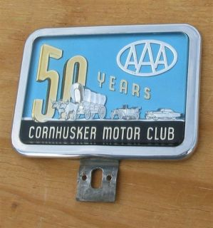 AAA Auto Club Award Badge 50 Years Cornhusker Motor Club Nebraska