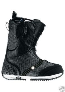 Burton Axel 2009 Womens Snowboard Boots Black 6