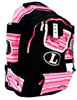 Louisville Slugger Softball Sports Equipment Kozmo Back Pack Bag Pink