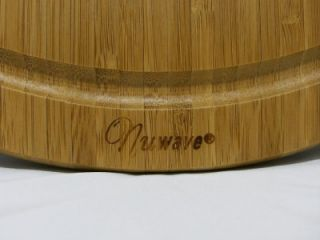 oven 100 % durable eco friendly bamboo cutting board 14 35cm round