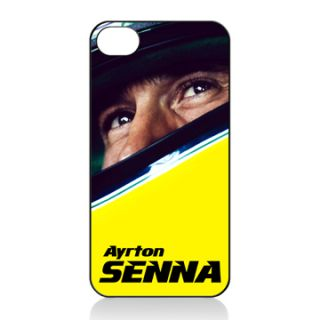 AYRTON SENNA iphone 4 4S HARD COVER CASE Mclaren