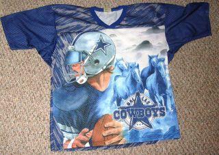 Dallas Cowboys Jersey/Shirt RARE CCM Vintage L/XL