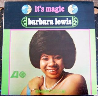 Barbara Lewis Its Magic Original Mono White Label Promo