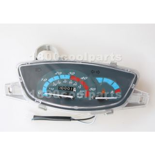 Scooter Moped Speedometer Light Gas Gauge Jonway Roketa Sunl Baja