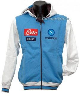 Napoli Hoodie Sweatshirt Team 2013 Macron Naples Official Clothes