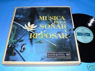 Musica Para Sonar y Reposar SELECCIONES 10LPs VG+