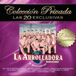 La Arrolladora Banda El Limon Coleccion Privada Las 20 Exclusivas CD