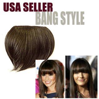 Fashion Bang Hair Fringe Cute Hair Extensions Bang Style Bang Hair