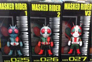 Banpresto Kamen Masked Rider WCF 4 World Collectible Figure Set of 3 1
