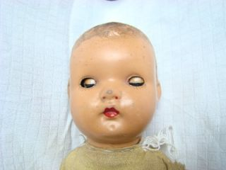 vintage antique composition baby doll