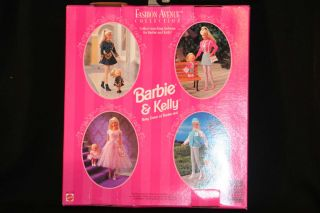 NRFB NIB 1996 MATTEL BARBIE KELLY DOLL CLOTHES MATCHIN STYLES FASHION