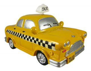 Cool Yellow Taxicab Piggy Bank Money Coin Taxi Cab
