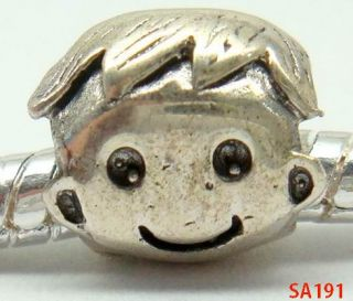 Solid 925 Sterling Silver Charm Pendants Baby Collection Jewelry