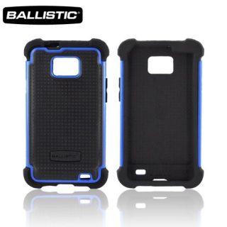 NEW BALLISTIC BLACK / BLUE SG CASE SAMSUNG GALAXY S II 2 I777 GT I9100