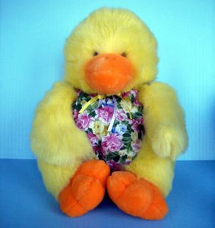 Huggable Soft Plush Baby Duck Soft Duckie Stuffed Toy M G Pacific Toys