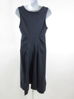 you are bidding on a barbara bui navy blue sleeveless dress in