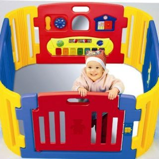 Baby Toddler Safety Secure Gate Door Play Yard Center