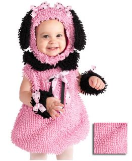 Pink Poodle Costume Girls Baby Infant Halloween Costumes
