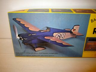 Sterling Balsa Wood Model Kit Real Sporty F 1 Air Racing Show Plane