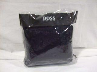hugo boss windsor king duvet cover color navy blue retail value $ 600