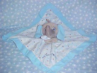 Garanimals ELEPHANT Baby SECURITY BLANKET Lovey Blue My Best Friend
