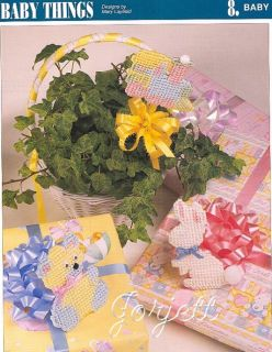 Baby Motif Things Annies Plastic Canvas Patterns