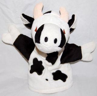 Adorable Emirates Cow Handpuppet Baby Plush Toy