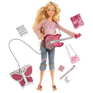 New RARE Mattel Barbie Diaries Doll Plays Guitar