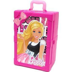 Barbie Tara Toy Pink Barbie Trunk Carrying Case Barbies Clothes for