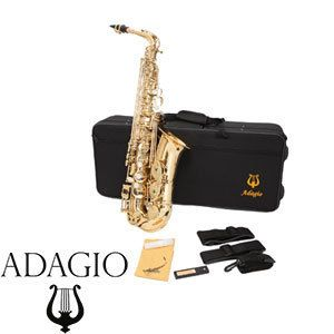 Student Alto Saxophone Band Instruments Includes Hard Case High F Note