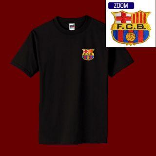 Barcelona Football Soccer Patch Shirt M XL 14 99 Black