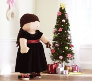 pottery barn kids hope limited doll bnib girl plush