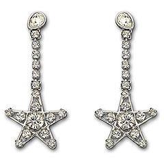 Swarovski Crystal Bailee Star Earrings 865040 New Pierced